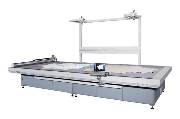 数控振动刀皮革切割机IC850/IC850L