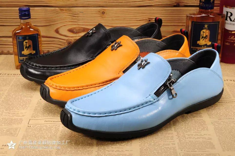 广州真皮鞋厂现货批发2015夏季新款男士休闲鞋 商务正装皮鞋 时尚沙滩凉鞋等