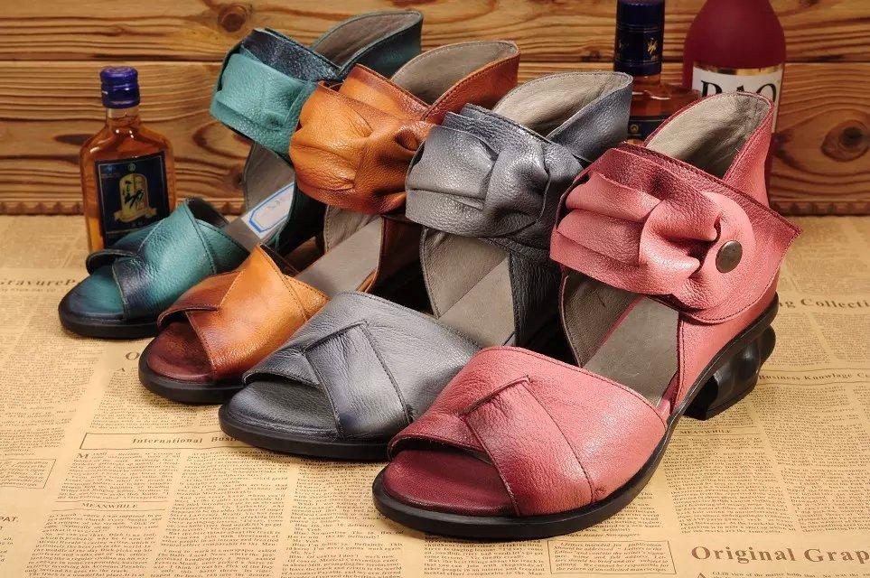 广州女鞋厂家批发外贸个性复古舒适头层牛皮单鞋 女士皮鞋等支持混混批