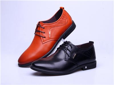 甲尔申时尚皮鞋-2015新款男单皮鞋