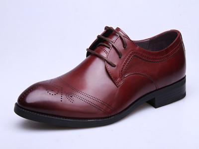 甲尔申时尚英伦风皮鞋-2015新款男单皮鞋