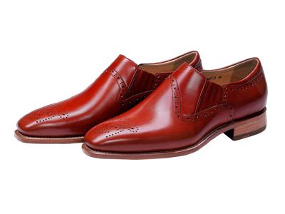 肯迪凯尼固特异手工皮鞋布洛克雕花正装男鞋