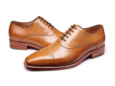 肯迪凯尼意大利手工男鞋个性牛津鞋