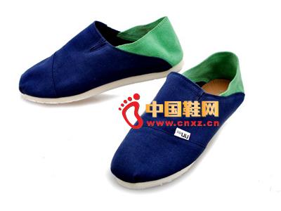 尼尼可可2013新款休闲百搭布鞋上市 三色
