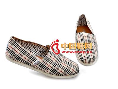 尼尼可可2013新款休闲条纹布鞋上市