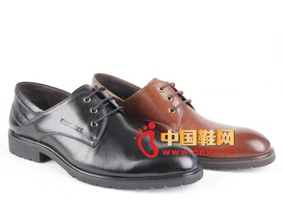 威戈2014新款男鞋上市 商务皮鞋