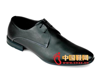 巨臣乐2014新款男士商务皮鞋