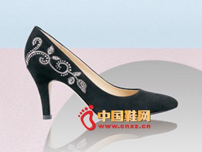 罗拉尼克2014新款女鞋 经典款镶花高跟女鞋