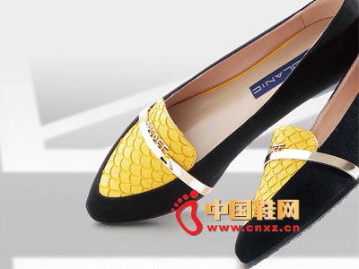 罗拉尼克2014新款女鞋 时尚百搭尖头平跟女鞋