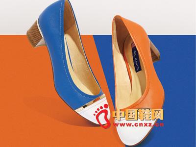 罗拉尼克2014新款女鞋 时尚平色中跟女鞋