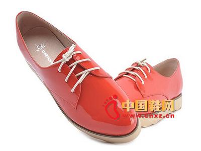 宝曼妮新款时尚女鞋 休闲皮鞋