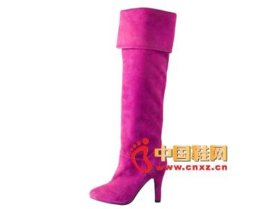 雅伦荻莎2014时尚新款女鞋  高跟长靴