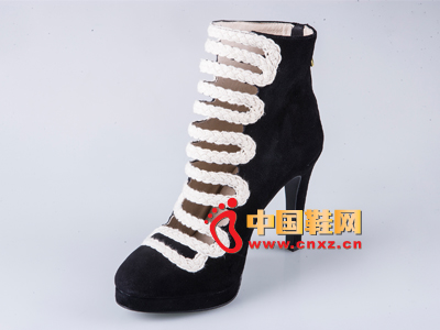雅伦荻莎2014时尚新款女鞋 高跟短靴