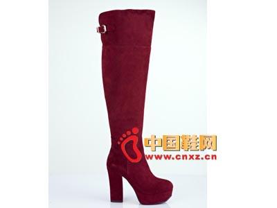 街梯新款时尚女鞋 高跟长靴