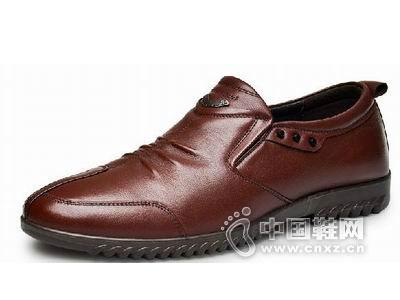 驰鸵2015新款休闲皮鞋