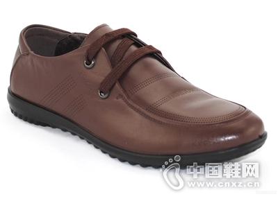 百牛圆新款男鞋正装系带商务休闲透气舒适男士皮鞋