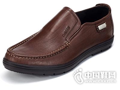 麦高 秋季商务休闲鞋男士乐福鞋 套脚真皮头层皮鞋男鞋单鞋