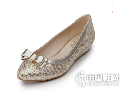 卡芙琳2015春季新款浅口单鞋