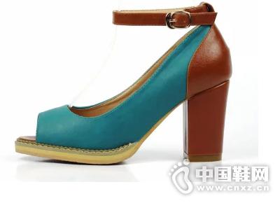 新款雨薇露露正品甜美鱼嘴女鞋 韩版流行款扣带高跟鞋