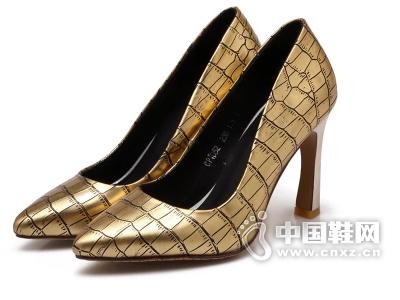2015新款圣帝罗阑山山红草帽漫步佳人U56欧罗巴女鞋专柜正品单鞋
