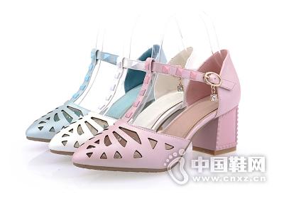 漫步佳人月牙儿2015新款欧罗巴专柜正品女鞋柜女兆性感凉鞋女
