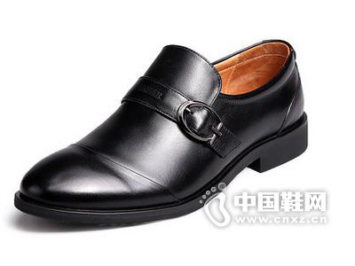 Kaiser凯撒男鞋2015新款商务正装皮鞋男真皮漆皮套脚尖头牛皮鞋子