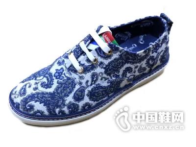 创一鞋业时尚帆布男鞋特色潮男帆布鞋个性图腾帆布男鞋酷男帆布鞋
