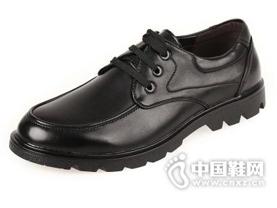 红蚂蚁男鞋正品鞋子男士商务正装皮鞋皮系带大头英伦