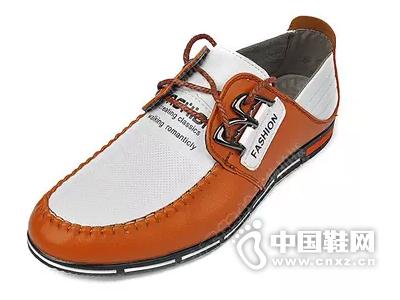 2015新款鸥鸟王休闲鞋平底皮鞋拼色男式单鞋男鞋