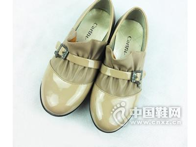 卡儿菲特卡尔菲特品牌女童大中童春秋时尚单鞋皮鞋
