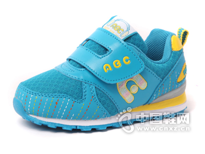 ABC童鞋男童女童运动鞋网面2015年秋款新款小童鞋防滑软底