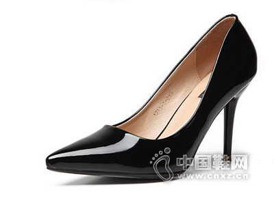 印象风2015苹果彩票主页网红色婚鞋尖头细跟高跟鞋