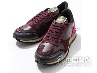 美国华伦天奴2015男鞋迷彩休闲运动鞋