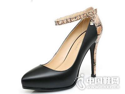 浓情漫宇真皮女鞋新款产品