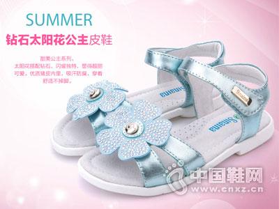 斯乃纳童鞋2016新款女童凉鞋