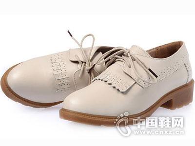 公羊真皮皮鞋2016新款女休闲鞋