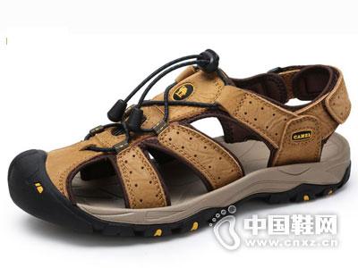 骆驼休闲鞋2016新款沙滩凉鞋