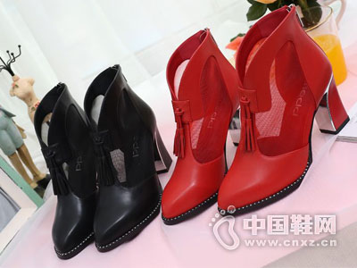 名典女鞋2016网靴新款