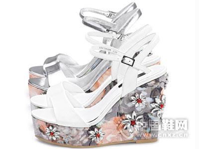 爱米高女鞋2016凉鞋新款