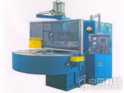 恒�N高周波机械设备―全自动三位转盘高周波熔接机