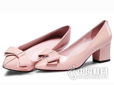 世尊皮鞋2016高跟女时装单鞋