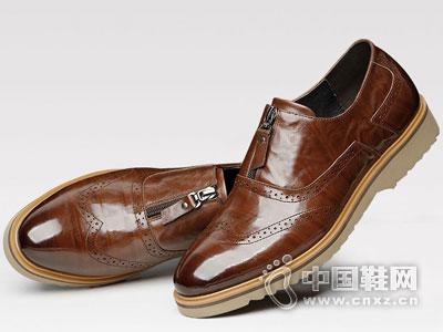世尊皮鞋2016休闲皮鞋新款