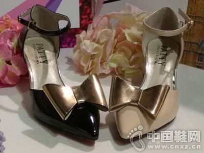 芭迪女鞋2016中空单鞋