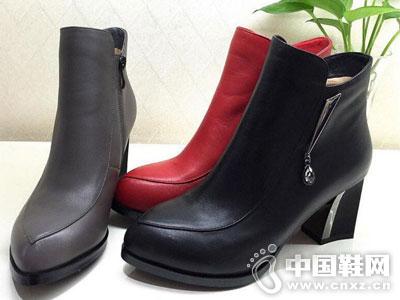 欧米高时尚女鞋新款低靴