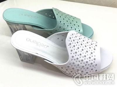 欧米高时尚女鞋新款镂空凉鞋