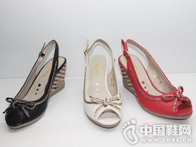 舒丹妮女鞋新款后空凉鞋