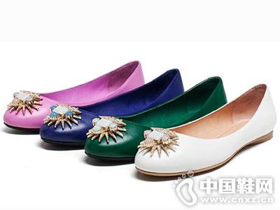 爱意时尚女鞋2016新款平底浅口鞋