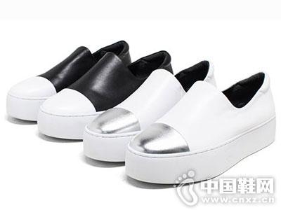 爱意时尚女鞋2016新款厚底单鞋