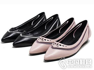 爱意时尚女鞋2016新款平底单鞋