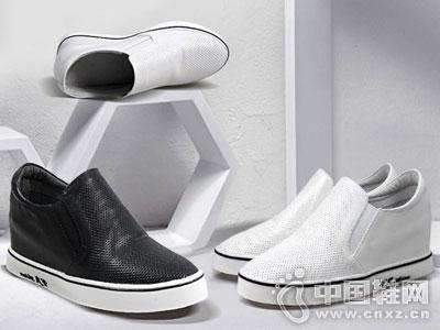 LUZ路姿时尚女鞋2016厚底单鞋